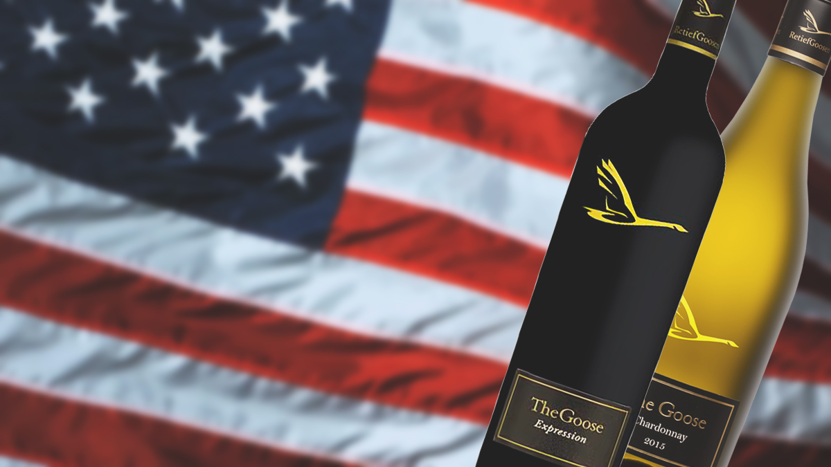The Goose Wines now available in the USA